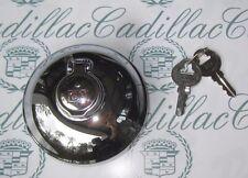 1935-1940 Cadillac & LaSalle Accessory GM Locking Gas Cap w/ 2 Keys | Chrome