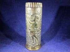 B3-31 World War I Artillery Shell Made June 1917 And Inscribed 1920 - Trench Art