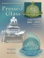 Standard Encyclopedia of Pressed Glass 1860 - 1930 3rd Ed Edwards & Carwile EUC