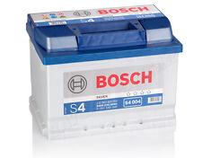 BOSCH 60 Ah Autobatterie S4 004 12V 60Ah Batterie ETN 560409054 NEU