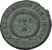 CONSTANTIUS II Constantine the Great son Ancient Roman Coin Unpublished i47026