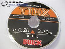 MONOFILO BULOX T10X 100mt 0,20mm 3,20kg - FIL58