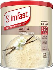 SlimFast Meal Shake Vanilla Flavour 12 Servings Lose Weight & Keep It Off 438g