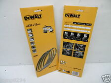 PACK OF 4 DEWALT DT8461 BANDSAW BLADES 18TPI FOR USE WITH DCS371 18V XR BANDSAW