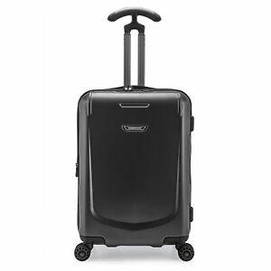 "Palencia III 22"" Carryon Anti-Theft Metallic Expandable 8-Spinner Wheels Luggage"