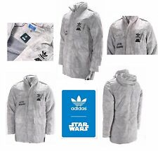 RARE ADIDAS STARWARS JACKET ROGUE SQUADRON COAT SIZE SMALL ADULTS