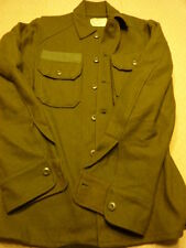 Vietnam Era US ARMY OD cold weather shirt...small (33 to 37 )