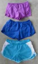 Lot of 3 Medium M Old Navy Workout SHORTS~Womens exercise-euc blue berry running