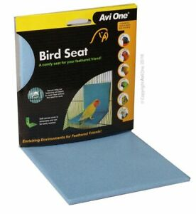Avi One Bird Seat with Fabric Cover - Parrots Finches Caneries Budgie Macaw