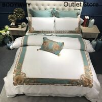 Luxury Oriental Embroidered Egyptian Cotton  Bedding Set Bedding Sets Cover Bed