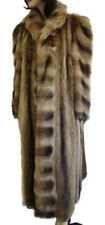 EXCELLENT TANUKI RACOON RACOON FUR COAT JACKET WOMEN WOMAN SIZE 6-8 NEW LINING!