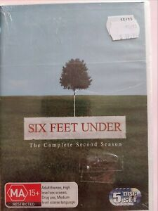 Six Feet Under : Season 2 [5 DVD Set] Region 4, BRAND NEW & SEALED, Free Post