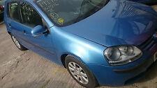 VW GOLF MK5 1.6 FSI BAG, BLUE LC5G, GEARBOX GVV, 5DOOR, WHEEL BOLT, BREAKING