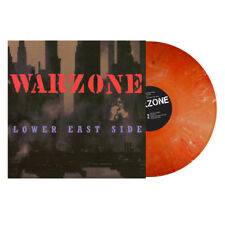 WARZONE Lower East Side LP NEW ORANGE Colored vinyl + download {Hardcore Oi]