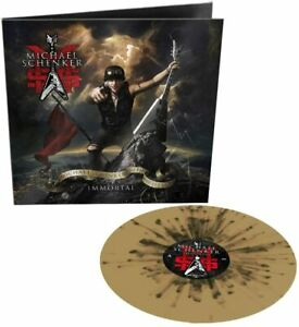 MSG Michael Schenker Immortal Gold/Black Splatter VINYL LP NEW + SEALED