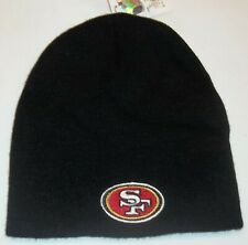 San Francisco 49ers Knit NFL Team Apparel Hat - OSFA - New