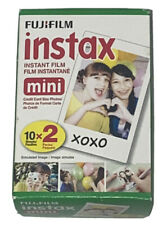 Fujifilm Instax Instant Film Mini 10 Sheets x 2 Pack Simulated Image Exp 2018-07
