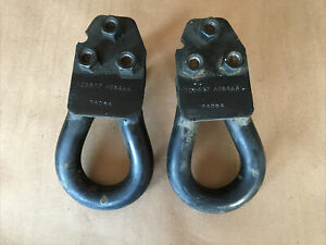 Ford Excursion F-250 F-350 Super Duty Front Tow Hooks Left & Right OEM 1999-2004
