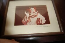 Friendly Clown Waving, Framed & Matted  Photograph -Lawerance  Berman