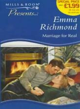 Marriage for Real (Presents),Emma Richmond