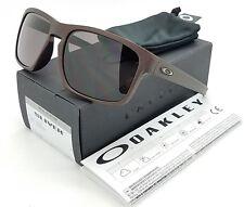 NEW Oakley Sliver sunglasses Corten Warm Grey AUTHENTIC burgundy red 9269-11
