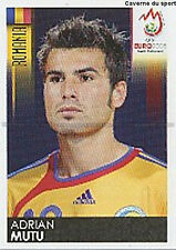 N°327 VIGNETTE PANINI MUTU ROMANIA EURO 2008 STICKER