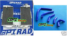 Aluminum radiator + HOSE Honda CR250 CR250R CR 250R 05 06 07 2005 2006 2007