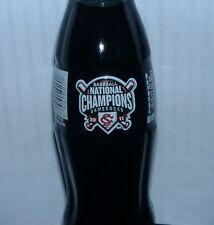 2012 South Carolina Gamecocks Baseball 2011 Champions Coca-Cola Coke Bottle
