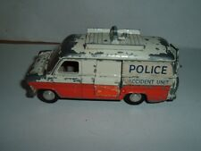 DINKY TOYS FORD TRANSIT POLICE VAN RESTORATION VINTAGE TAKE A LOOK AT THE PHOTOS