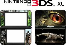 Nintendo 3DS XL 3DSXL 3 DS XL  DINOSAURS Vinyl Skin Decal Sticker cover