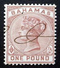 Bahamas 32 One Pound lightly used SG57