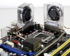 Lot of 2 ASUS RAMPAGE STRIKER MAXIMUS II BLITZ EXTREME FORMULA Heatpipe VRM Fan