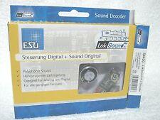 ESU 54400 DIGITAAL SOUND decoder hoogvermogen programmeerbaar tot 255 adressen