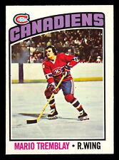 1976-77 OPC O PEE CHEE #97 MARIO TREMBLAY NM MONTREAL CANADIENS HOCKEY CARD