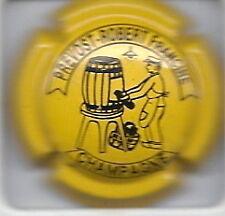 Capsule de champagne Prevot- Robert Francine jaune
