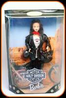 Harley-Davidson Motorcycle Barbie #3 Brunette Collector Doll 1999 NRFB