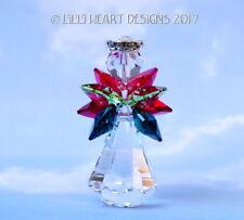 m/w Swarovsk Crystal Standing Big Christmas Angel Figurine Lilli Heart Designs