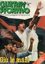 GUERIN SPORTIVO=N°45 1978 ANNO LXVI=ELTON JOHN=TONY RENIS=