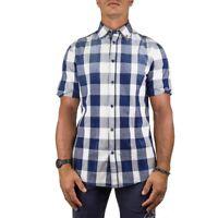 Armani Jeans Camicia Uomo Col Blu tg XL | -53 % OCCASIONE |