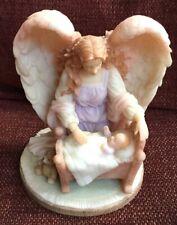 Seraphim classics angel figurine Roman sculpture watch over me baby crib 78027
