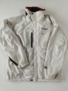 COLUMBIA Vertex Men's Waterproof Omni-Tech Winter Jacket Size L White