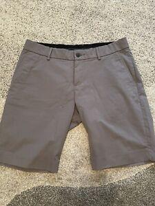 Kjus Inaction Golf Shorts - Mens - Grey - Size 33