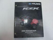 2008 Polaris RZR Service Repair Shop Workshop Manual NEW Factory Polaris