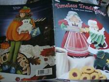 Timeless Traditions Painting Book Santa & Mrs. Claus, Christmas Carousel, Santa'