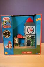 New THOMAS the TANK ENGINE Wooden Train Set CLOCK TOWER Learning Curve