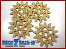Steampunk Cogs Gears Wheel Laser Cut MDF Decorative Accessory 100mm x 3mm COG5