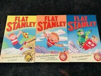 Flat Stanley Adventures books Set -3 Books- Jeff Brown flat stanley books (S1)