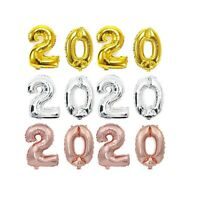 """32"""" 2020 HELIUM NUMBERS BALLOONS NEW YEAR GRADUATION WEDDINGS PROMS PARTY DECOR"""