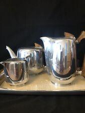 More details for vintage piquot ware 5 piece tea set ( excellent condition)