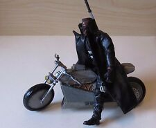 """Marvel Legends Blade 6"""" Series 5 loose Action Figure with motocycle"""